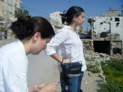 Sarah and Marla B in Southern Lebanon