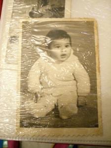 Samir as baby